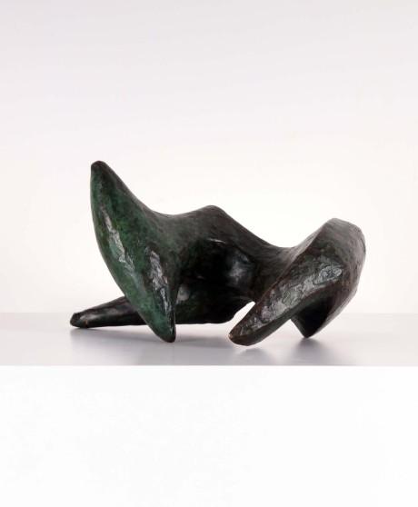 Bronze sculpture, 1950 L 32cm, W 23cm, H 18cm edition 3/5