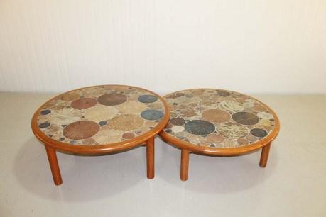 Ceramic Art Coffee Table by Tue Poulsen, Denmark, 1960.