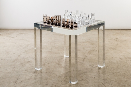 Chess Game Table by Michel Dumas 1970