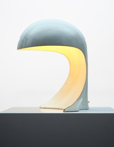 "Table Lamp ""Dania"" designed by Dario Tognon (Born 1936) for Artemide Lacquered aluminium, Italy 1969 Dim: Dia 34 H 40 cm"
