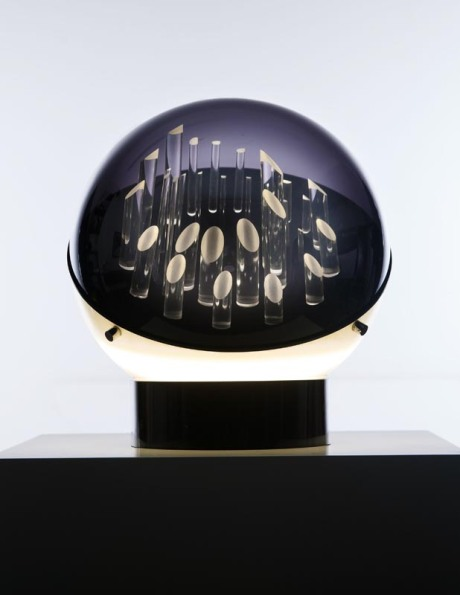 """New Lamp"" in Plexiglas by Superstudio, Italy, 1970, Dia 37 H 40 cm"
