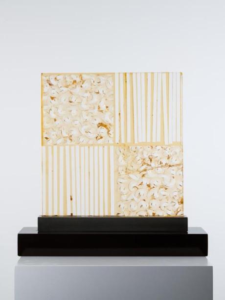 Plexiglas Lamp , 1970, 50 x 50 cm