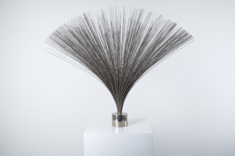 Iron Sculpture « Spray » by Harry Bertoia circa 1960. H 85 Dia 140 CM
