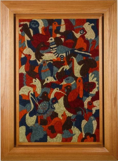 Wool Tapestry, 1950, H 119 cm W 88 cm