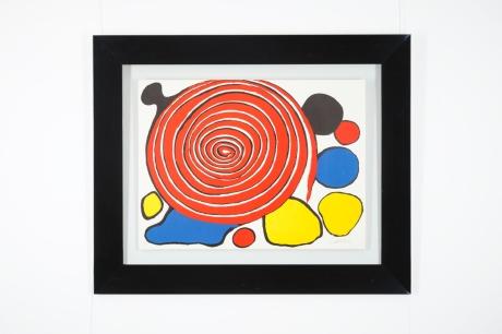 Original Lithography by Alexander Calder, circa 1960, 90 x 110 cm, ed 52/75