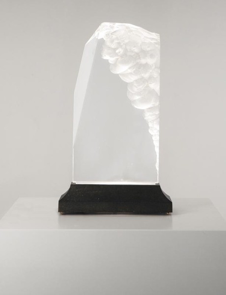 Light sculpture in Plexiglas ,United States, 1970, H 44 cm