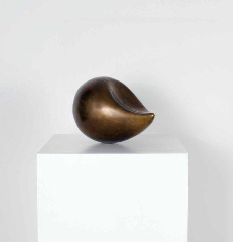 Modernist Brass Sculpture, France, circa 1950, W 35 H 25 cm