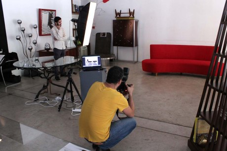 Photo Shoot @ XXe Siecle Gallery - Day 2