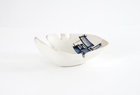 Ceramic ashtray by Roger Capron, France, 1960
