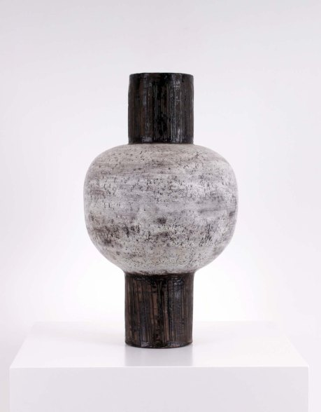 Vallauris ceramic vase, France, 1965, H 50 cm