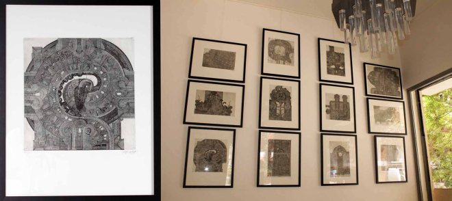 Set of 12 Lithographs by Johannes Gachnang, Switzerland, 1966, Signed and Numbered, Dim 72 cm W 57 cm.