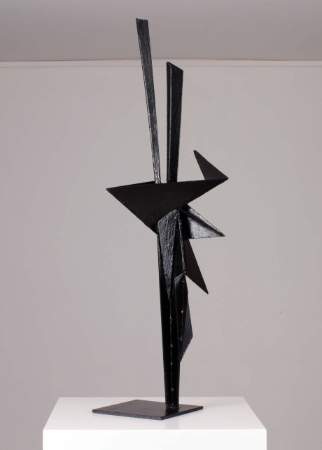 Antonio Valmaggi untitled metal sculpture, 1970, Italy, H 100 cm