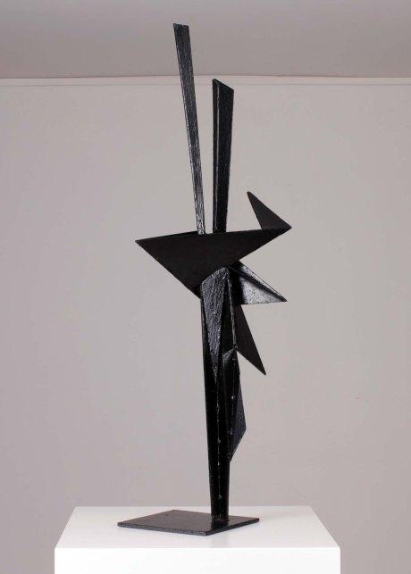 Antonio Valmaggi untitled metal sculpture, 1970, Italy, H 100 cm