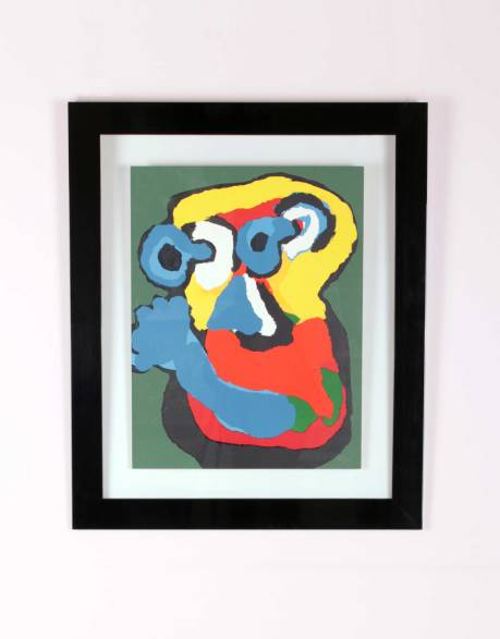 Karel Appel Lithograph, The Netherlands, circa 1970, L91 W77 cm.