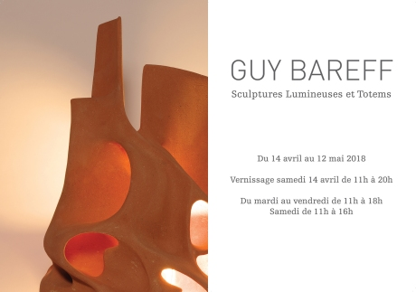 Invitation Guy Bareff-GrosTexte