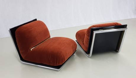 f201-italian lounge chairs
